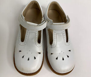 Elephantito Girls shoes White  Learher