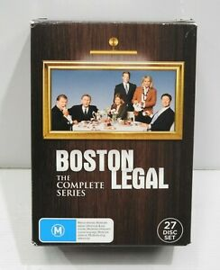 Boston Legal The Complete Collection Series Season 1 2 3 4 5 DVD Set