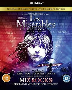 Les Misérables: The Staged Concert [Blu-ray] Edition) [2019]