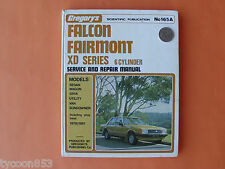 GREGORY'S WORKSHOP MANUAL 6Cyl inc Alloy Head FORD FALCON FAIRMONT XD '79-'81