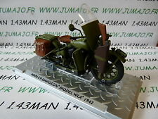 Moto Test ATLAS HARLEY DAVIDSON : Model WLA 1942 US army WW2