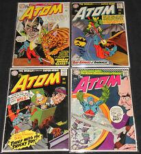 Dc Silver Age The Atom 8pc Mid Grade Comic Lot Vg-Fn #'s 21-24, 32, 43-45 Jla
