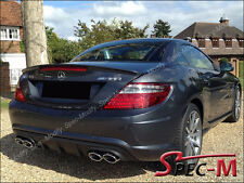 2012+ MB SLK200 SLK250 SLK350 SLK55 AMG Style Painted Black Trunk Wing Spoiler