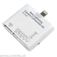 IPAD AIR USB CAMERA KIT SD CARD IPAD 4/5 MINI 3 IN 1 READER ADAPTER TF
