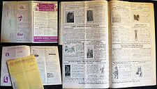 1936 - 1937 ILLUSTRATED SALE CATALOG UNION LIBRARY PUBLISHING HISTORY HITLER