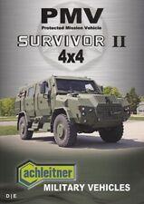 ACHLEITNER SURVIVOR II 4x4 2008 MILITARY BROCHURE PROSPEKT CATALOGUE FOLDER
