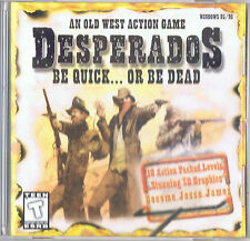 DESPERADOS Be Quick or Be Dead PC CD Rom OLD WEST Action Game 100% COMPLETE *LN*
