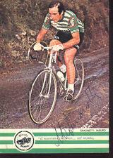 MAURO SIMONETTI cyclisme ciclismo cp signée SANSON 77