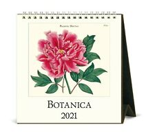 Cavallini & Co. Botanica 2021 Desk Calendar