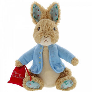 Beatrix Potter Peter Rabbit Christmas LargeSoft Toy 30cm by GUND 6054396
