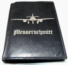 Messerschmitt 262 Flugzeug 2 Weltkrieg Leder Geld Tasche Geldbeutel Geldbörse