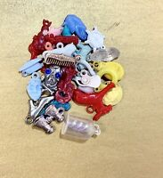 Vintage Cracker Jack Gumball Machine Prize Toys Ship Dog Roosevelt 29pc Lot