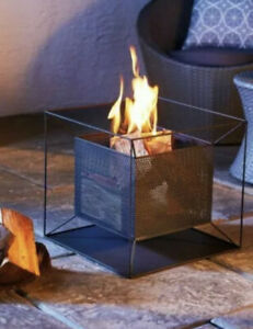 Gardenline Square Fire Basket - Contemporary Firepit ✅ Free And Fast Delivery 🚚
