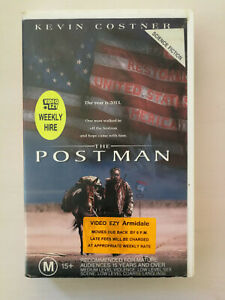The Postman VHS Kevin Costner Classic Dytopian Movie