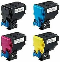 4 Pack Quality BLACK & COLOR Toner for KONICA MINOLTA TNP22, BizHub C35 / C35P