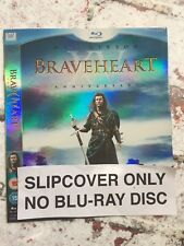 Braveheart UK Blu-ray Slipcover ONLY (NO MOVIE INCLUDED) Free UK Postage