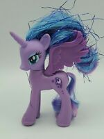 My Little Pony PRINCESS LUNA Blue Tinsel Hair Brushable G4 MLP Rare