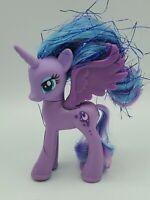 My Little Pony PRINCESS LUNA Blue Tinsel Hair Brushable G4 MLP Rare