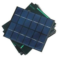 Solar Panel Module for Light Battery Cell Phone Charger Portable 6V 2W DIY NEW!