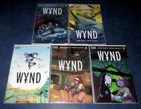 WYND #1 2 3 4 5 (of 5) 1st print complete set JAMES TYNION IV BOOM STUDIOS NM