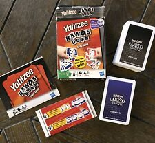 Yahtzee Card Game Hands Down Light Use Complete Hasbro Family Game Night