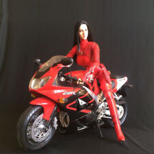 Red Motorcycle clothing for 1/6 custom Action Figure Female Phicen Hottoys
