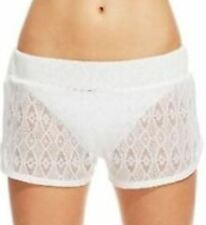 Miken Crochet Lace Sheer Beach Swim Summer Cover-up Shorts $24 NWT Juniors Sizes