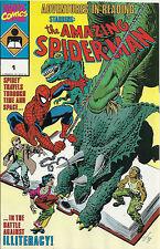 Adventures in Reading Starring Amazing Spiderman  #1    NM