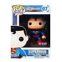 Funko DC Universe New 52 PX Exclusive POP Superman Vinyl Figure DAMAGED BOX