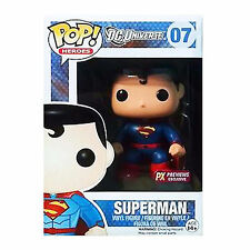 Funko DC Universe New 52 PX Exclusive POP Superman Vinyl Figure DAMAGED BOX