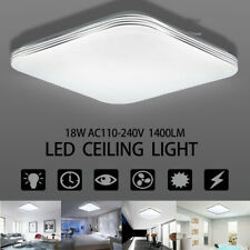 1400lm Bright 18W Square LED Ceiling Down Light Panel For Wall Bathroom Kitchen