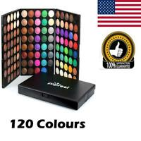 120 Matte Colors Eyeshadow Eye Shadow Palette Makeup Kit Pro For Popfeel US