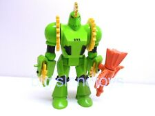 SilverHawks Vintage 1986 Kenner Buzz-Saw with Shredator Action Figure Complete