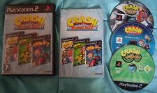 Video Gioco Retro Game Sony Play Station PS 2 ITA Crash Bandicoot Action Pack