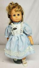 "Vtg 1980s Hans Gotz Puppe MODELL Blonde Girl  20"" Soft Body Doll  West GERMANY"