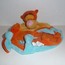Doudou Tigre Tigrou Disney - Orange Bleu