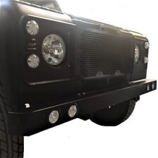 FRONT BUMPER QUAD LED DAYTIME RUNNING LIGHTS DRL FOR LAND ROVER DEFENDER 90 110