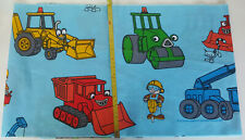 BOB THE BUILDER  MACHINERY FABRIC~ QUILT~APPLIQUE~CRAFT~WALL ART ~14