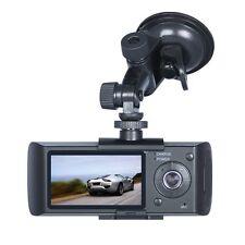 "HD GPS Dual Lens Vehicle Car Camera Video DVR Dash Cam G-Sensor 2.7"" LCD Screen"