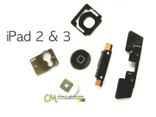 New Home Button Click Inner 5 Set Replacement Part Kit For Apple iPad 2 & 3