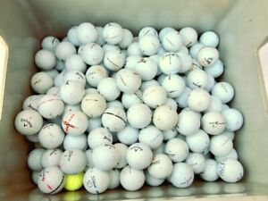200 x Mixed Brand Grade B+ Golf Balls Playable Condition Titleist, Callaway etc