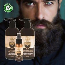 Beard Shampoo/Conditioner and Moisturiser Oil Triple Pack Complete BY MY BEARD