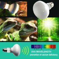 E27 Reptile Basking Light Heat Lamp Heater UVA Halogen Bulb 25/50/75/100W 1pcs