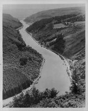 1934 Aerial View Saar River Press Photo