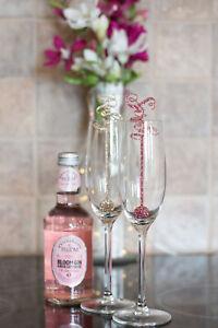 Personalised Pink Cocktail Swizzle Stick Drink Stirrer Hen Party Birthday Bride