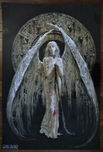 LUIS ROYO COLLECTION Angel Laminated Art Print 23 x 33 inches