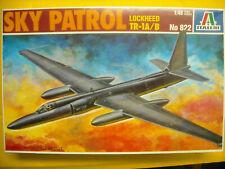Sealed Italeri kit 822  Lockheed Sky Patrol Tr-1A/B (U-2) 1:48 scale NIB