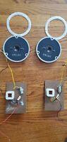EPICURE EPI 1205 Speaker Tweeter Out Of Model 5, Matching Pair 1978 Vintage