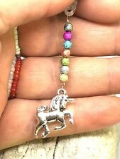 Sparkly Unicorn Dust Plug Dangle Charm Mobile Phone Tablet iPad iPhone kindle
