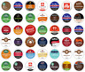 K Cup Coffee Variety Pack for Keurig Brewers, Fresh Brand Name Sampler, 40 Count